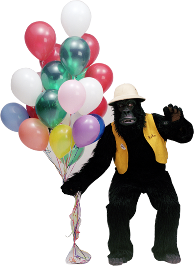 Balloon Magic Getaballoon Gorilla Gram